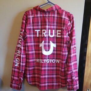NWOT True Religion Button down